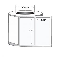 "Paper Label-2.00""x1.00""-White-5500/RL 8/CS"