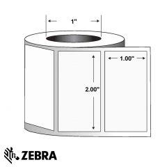 "Polyester Label-2.00""x1.00""-White-2530/RL 8/CS"