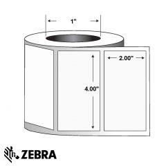 "Polyester Label-4.00""x2.00""-White-1340/RL 4/CS"