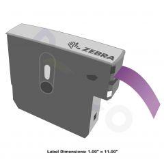 """Z-Band Direct Wristband-1.00""""x11.00""""-Purple-200/RL 6/CS"""