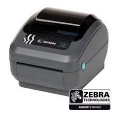 Zebra GX420D Desktop Printer w/Accessories-203 dpi