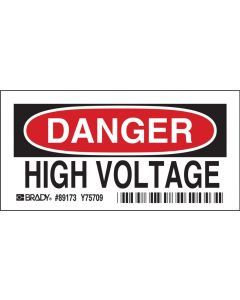 Polyester DANGER Sign