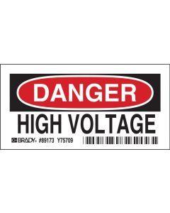 Polyester DANGER Sign