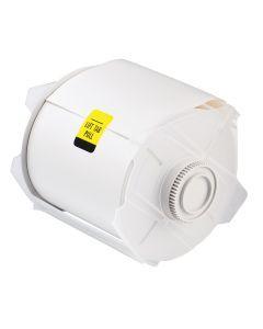 """Polyester Tape for GlobalMark-4.25""""x100'-White-100'/RL"""