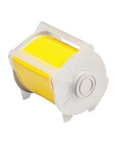 "Polyester Tape for GlobalMark-4.00""x100'-Yellow-100'/RL"