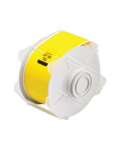 "Polyester Tape for GlobalMark-2.25""x100'-Yellow-100'/RL"