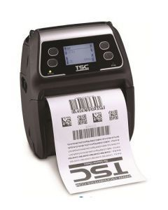 "TSC Alpha-4L DT 4"" Mobile Printer -203DPI - w/ Bluetooth, USB"