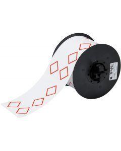 """Vinyl Label for B30 Series-4.33""""x2.95""""-White-270/RL"""