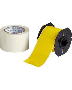 "Polyester ToughStripe Floor Marking Tape for B30 Series-3.00""x100'-Yellow-100'/RL"