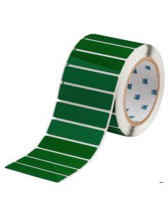 "Polyester Raised Panel Label-3.00""x0.75""-Green-500/RL"