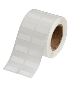 "Polypropylene Label for J2000-1.00""x0.375""-White-2000/RL"