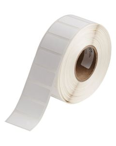 "Polypropylene Label for J2000-0.75""x1.50""-White-1500/RL"