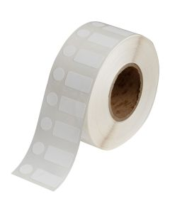 "Polypropylene Label for J2000-1.00""x0.50""-White-1500/RL"
