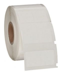 "Polymer Label-0.75""x0.75""-White-500/RL"