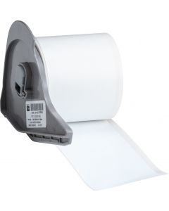 "Vinyl Tamper Evident Label for BMP71-2.00""x50'-White 50'/RL"