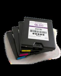 QL-800 Yellow Ink Cartridge 250 ml, Yellow