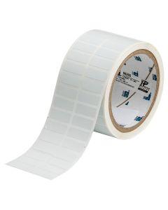 "Polyester FreezerBondz Label-1.00""x0.375""-White-3000/RL"