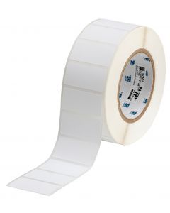 "Polyester ToughBond Label-2.00""x1.00""-White-3000/RL"
