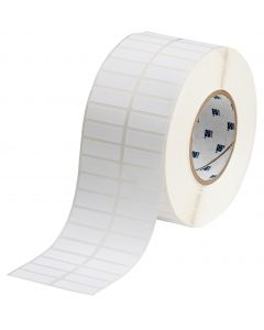 "Polyester ToughBond Label-1.50""x0.50""-White-10000/RL"