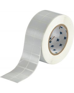 "Polyester FreezerBondz Label-1.00""x0.75""-White-5000/RL"