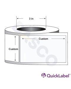 Quicklabel 112 Matte White Paper Label