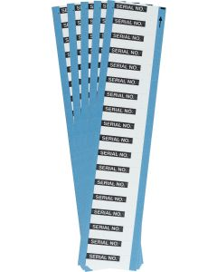 "Aluminum Foil Labels-1.50""x0.50""-5/PK"
