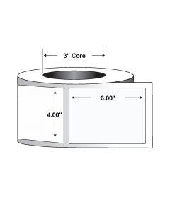 """Paper Tag-4.00""""x6.00""""-White-860/RL 4/CS"""