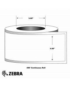 "Paper Label-4.00""x466'-White-466'/RL 4/CS"