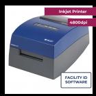 Brady J2000 Color Inkjet Printer w/ Brady Workstation Facility ID Software Suite - 4800 dpi