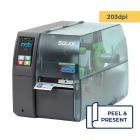 Cab Squix 4.3 / 200 P Printer - 203 dpi - Peel and Present