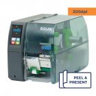 Cab Squix 4 / 300 P Printer - 300 dpi - Peel and Present