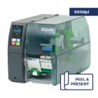 Cab Squix 4 / 600 P Printer - 600 dpi - Peel and Present