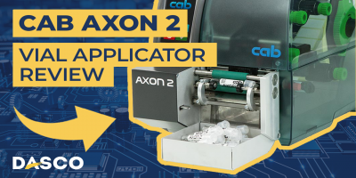Cab Axon 2 Vial Label Applicator Overview
