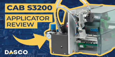 Cab Squix S3200 Print & Apply Applicator Demonstration