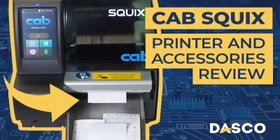Cab Squix 4 Printer & Accessories Overview