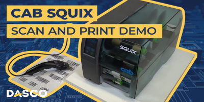 Cab Squix Scan and Print Demonstration