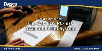 Scan and Print cab EOS System