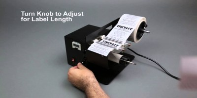 Tach-It KL-100 Label Dispenser Overview