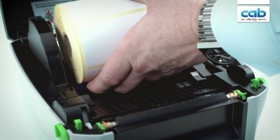 How To Insert Labels in the cab MACH1/2 Printer