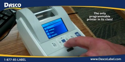 Intermec PC23d direct thermal printer
