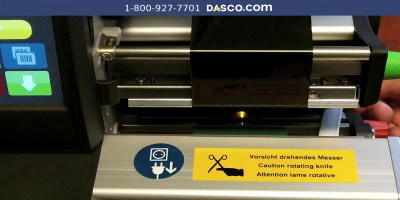 How to Load Heat Shrink Sleeves in cab SQUIX Printer
