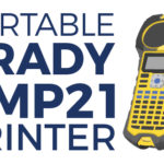 New! Portable Brady BMP21-Lab Label Printer